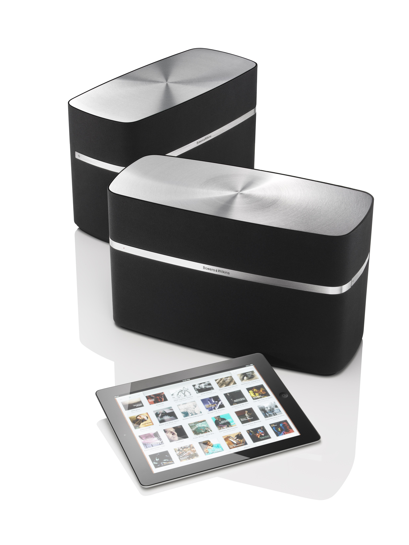 bowers wilkins a7 enceinte sans fil airplay 150 w noir audio hifi. Black Bedroom Furniture Sets. Home Design Ideas
