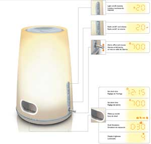 Philips Wake-up light HF3471