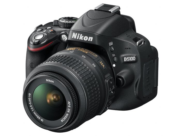 Nikon D5100 Appareil photo numérique Reflex 16.2 Kit Objectif VR 18