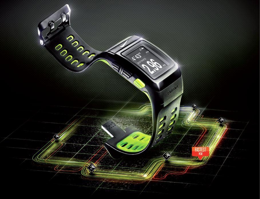 Montre de sport GPS Nike+ développée par TomTom
