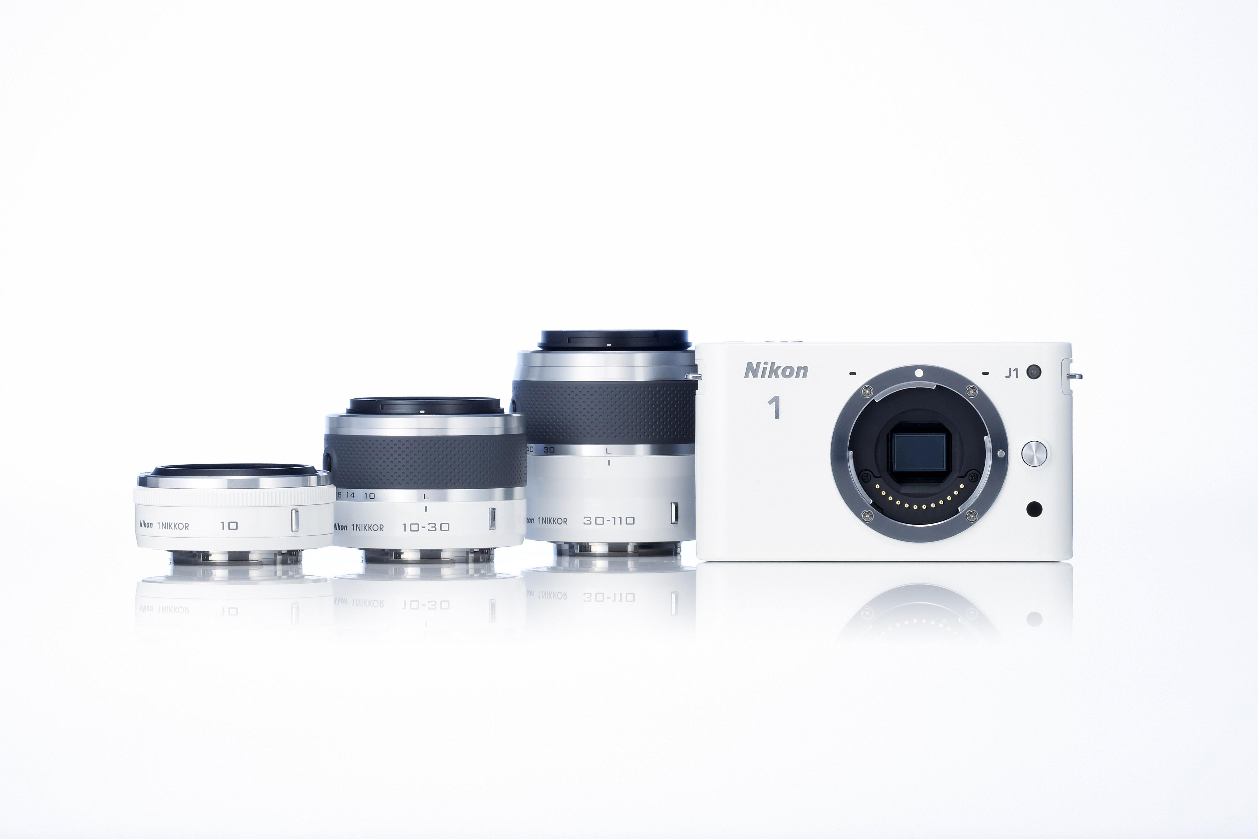 Captures d'écran du Nikon 1 J1