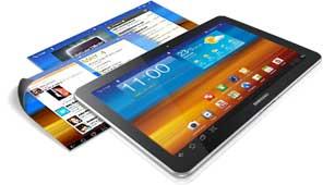 "Samsung Galaxy Tab P7510 Tablette PC 10,1"" (25,6 cm) Processeur dual core 16 Go Wi-Fi Bluetooth"