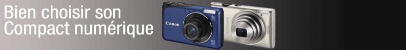 Bien choisir son appareil photo compact