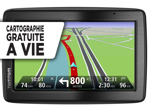 tomtom via 135 m 5 pouces gps auto cartographie europe 45 vie gps auto. Black Bedroom Furniture Sets. Home Design Ideas