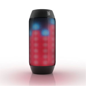 jbl pulse enceinte portable bluetooth avec jeux de lumi re led personnalisables noir multi. Black Bedroom Furniture Sets. Home Design Ideas