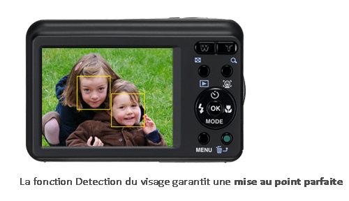 détection visage E90