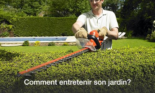 Conseils entretien jardin