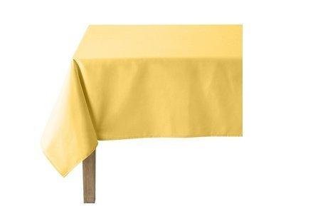 Linge de table jaune
