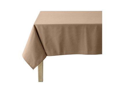 Linge de table marron