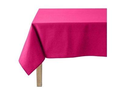linge de table rose