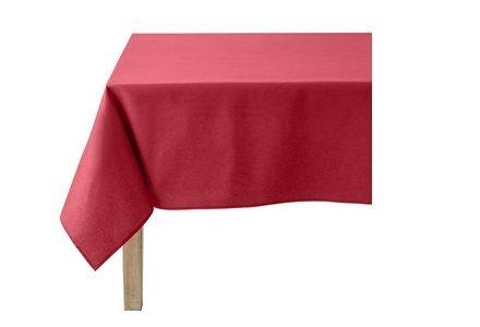 linge de table rouge