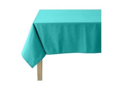 linge de table turquoise