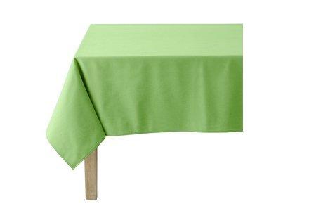 linge de table vert