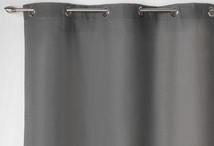 rideaux gris