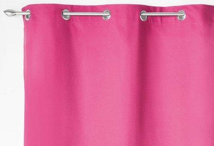 rideaux rose