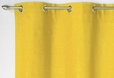 rideaux jaunes