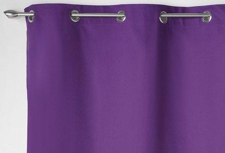 rideaux violets