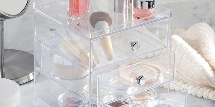 Rangements pour maquillage