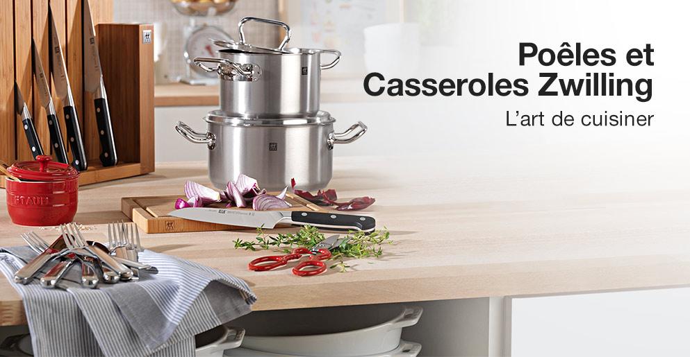 poêles et casseroles zwilling