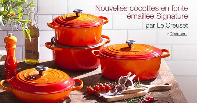Boutique le creuset cuisine maison - Cocotte en fonte emaillee ...
