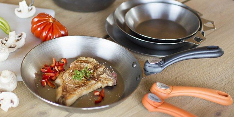 poeles et casseroles debuyer amovible
