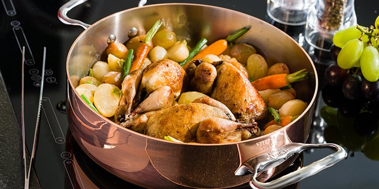 poêles et casseroles de buyer Cuivre
