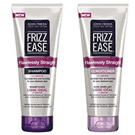 Adoptez le programme Frizz-Ease Lisse