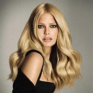 Résultat : des cheveux blonds brillants et illuminés !