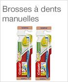 Brosses à dents manuelles