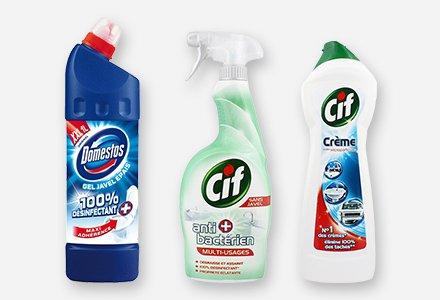 Nettoyants ménagers