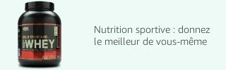 Nutrition sportive : donnez le meilleur de vous-même
