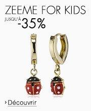 Zeeme for kids jusqu'à -35%