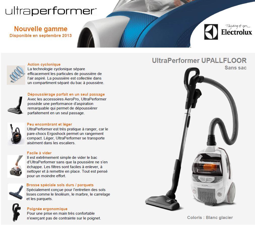 electrolux upallfloor ultraperformer aspirateur sans sac. Black Bedroom Furniture Sets. Home Design Ideas