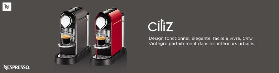 Design fonctionnel, élégante, facile à vivre, Citiz s'intègre parfaitement dans les intérieurs urbains.