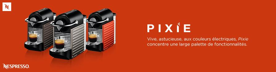 Vive, astucieuse, aux couleurs électriques, Pixie concentre une large palette de fonctionnalités.