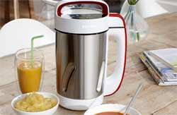 philips hr2200 80 blender chauffant smoothies gaspachos compotes soup maker 990w 1 2l amazon. Black Bedroom Furniture Sets. Home Design Ideas