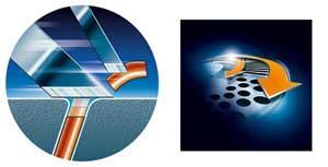 Technologie Super Lift & Cut et Système de coupe très précis.