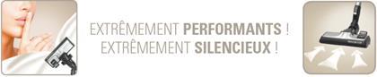 Performant et silencieux