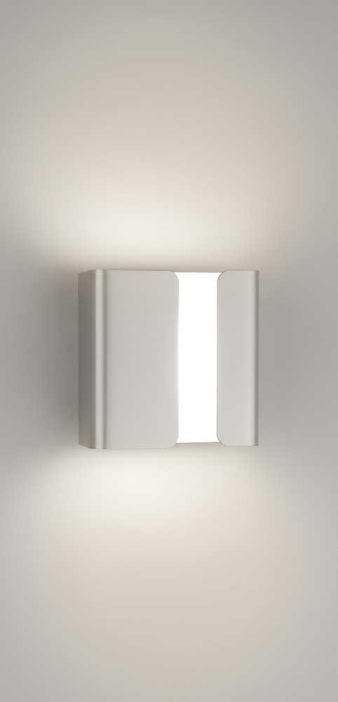 Philips Novum applique murale LED luminaire d\'intérieur Métallique ...