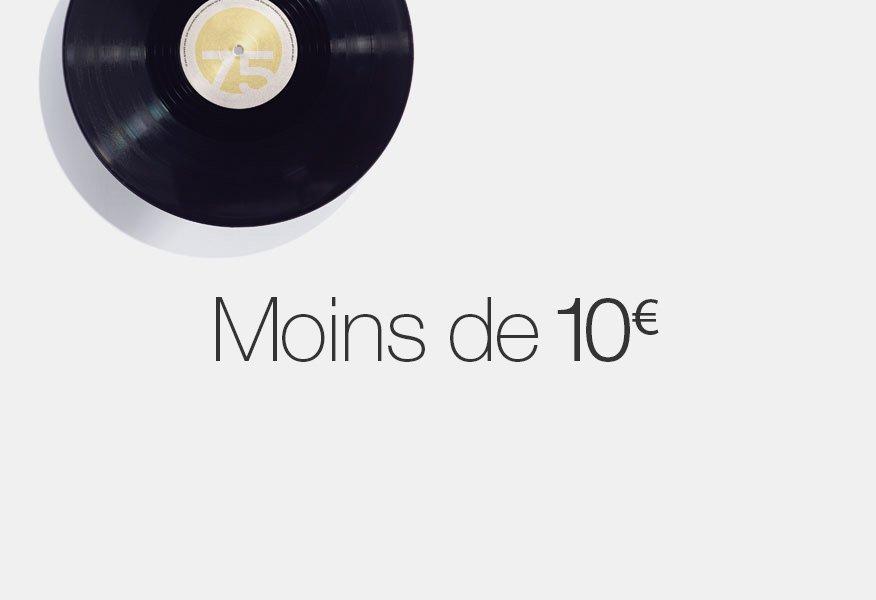 Vinyles à moins de 10 euros
