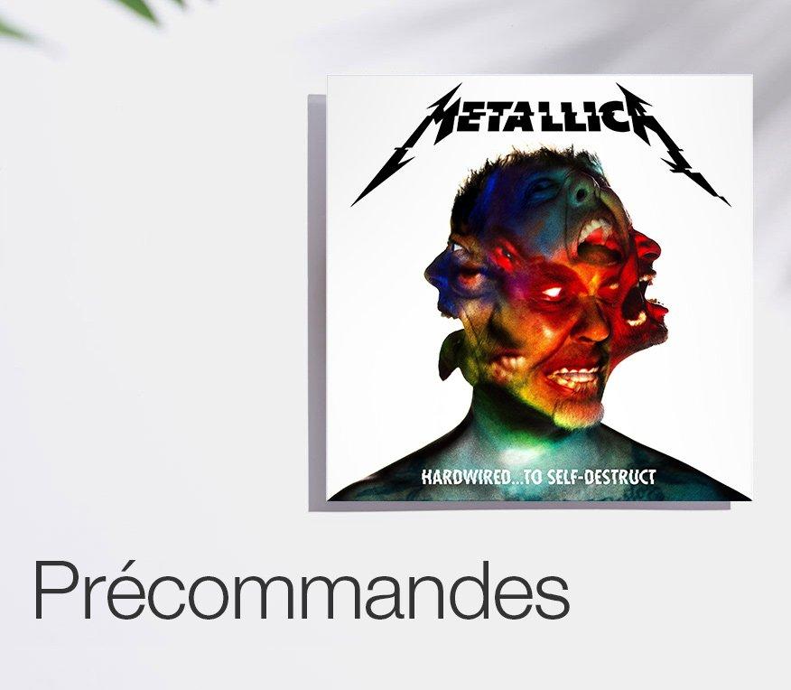 Précommandes Vinyles