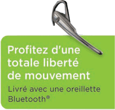 Inclus Bluetooth