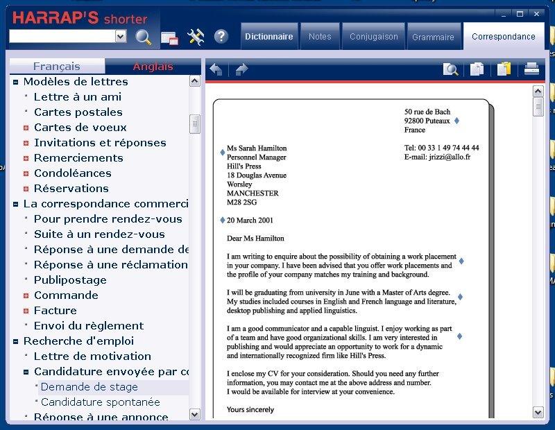 Super Harrap's Shorter V3 Français/anglais/français: Amazon.fr: Logiciels FH42