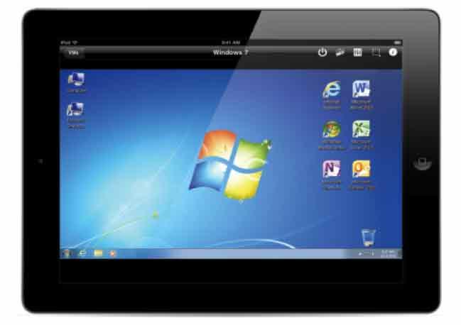 Parallels Desktop 8 Switch to Mac Edition - applications grâce à Parallels Mobile pour iPad