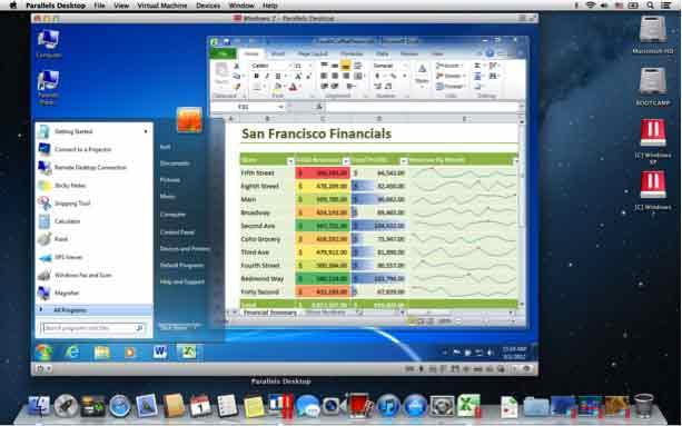 Parallels Desktop 8 Switch to Mac Edition - Exécutez sans problème Windows et ses programmes en parallèle avec Mac OS X