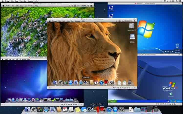 Parallels Desktop 8 Switch to Mac Edition - machines virtuelles