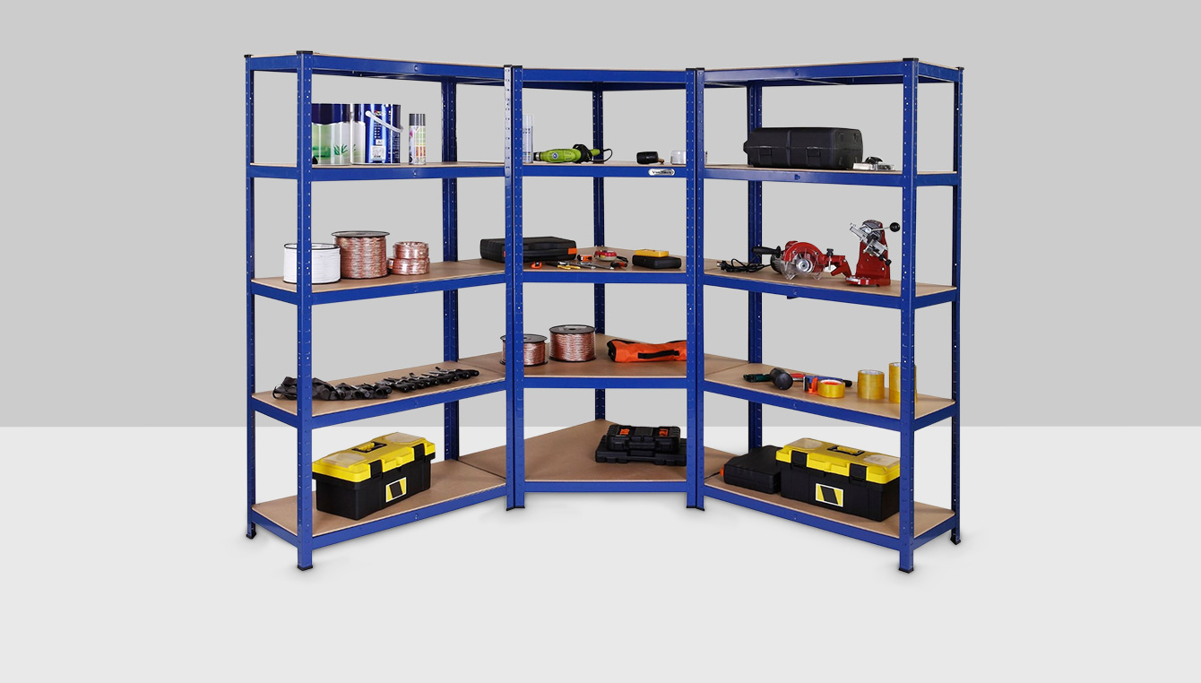 rangement et organisation bricolage organisation du garage tag res de. Black Bedroom Furniture Sets. Home Design Ideas