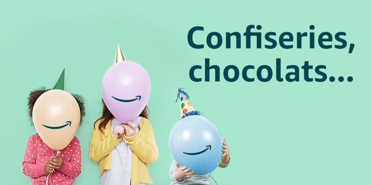 Bonbons, gateaux, chocolats