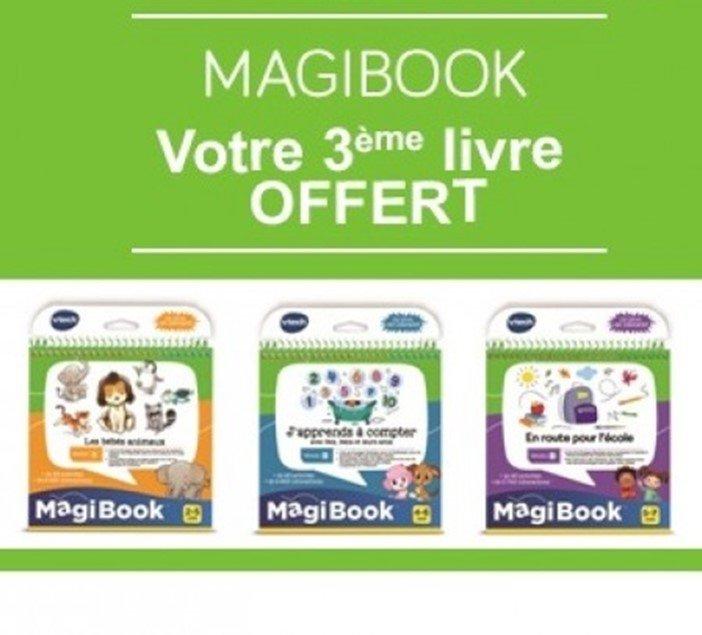Offre spéciale Magibook : 2 livres achetés = le 3eme offert