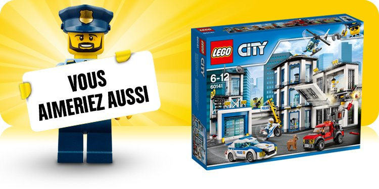 lego city jeux et jouets ville police pompiers chantier train espace et plus. Black Bedroom Furniture Sets. Home Design Ideas